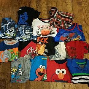 Other - Bundle boys t-shirt.. Size 4t